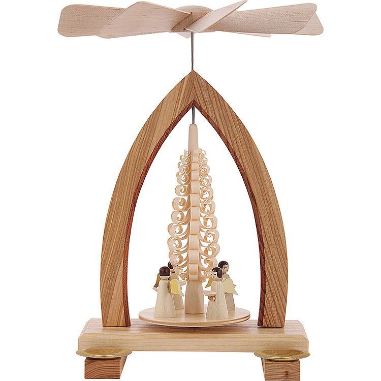 1 - Tier Pyramid  -  Angels  -  25cm / 10 inch