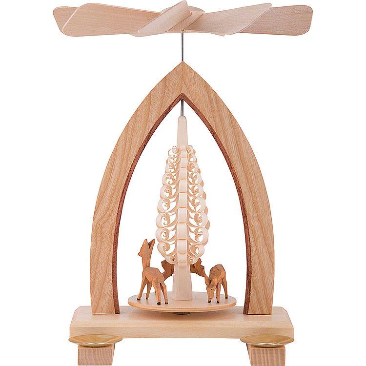 1 - Tier Pyramid  -  Deer  -  25cm / 10 inch