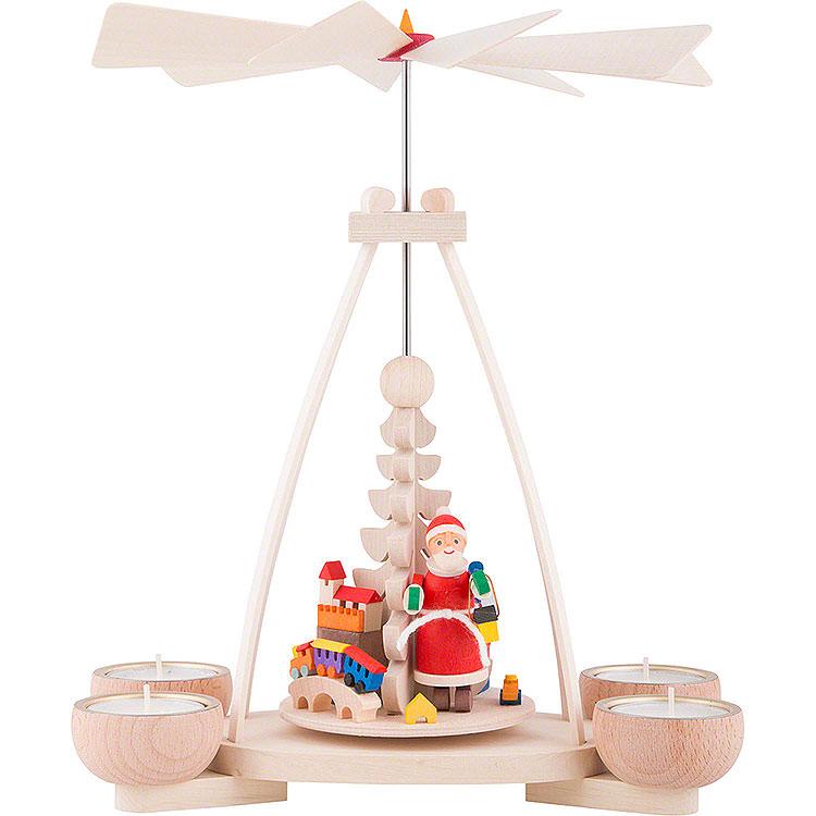 1 - stöckige Pyramide Weihnachtsmann  -  23cm