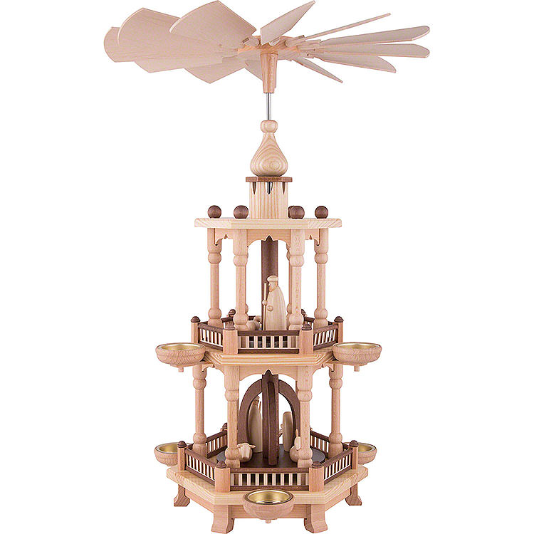2 - stöckige Pyramide Christi Geburt  -  51cm