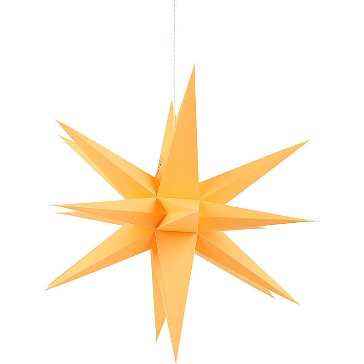 Annaberger Faltstern für Innen orange  -  35cm