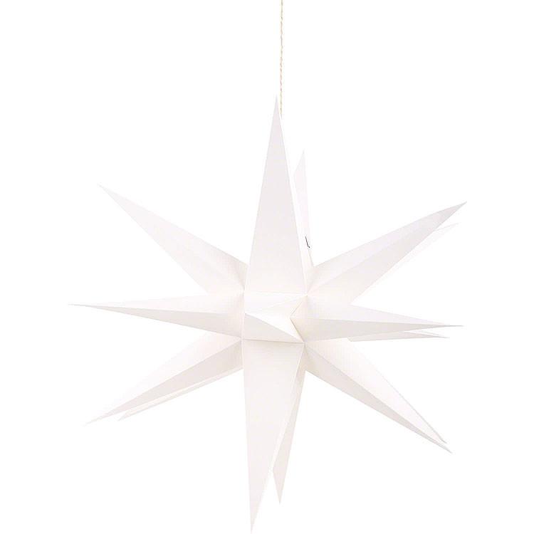 Annaberger Faltstern für Innen weiß  -  35cm