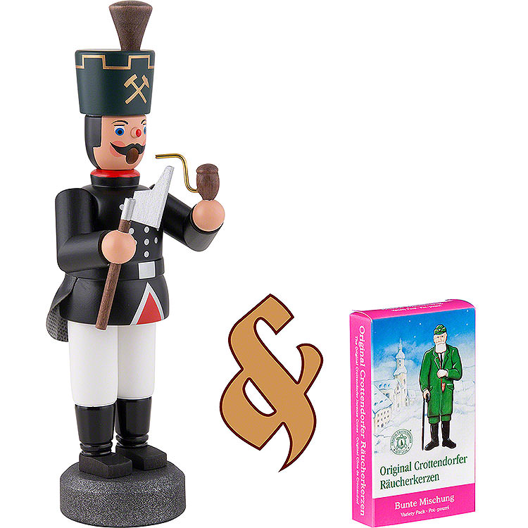 Bundle  -  Smoker Miner with Pick plus one pack of incense