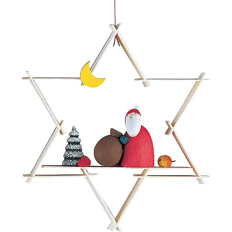Christbaumschmuck Weihnachtsmann  -  9,5cm