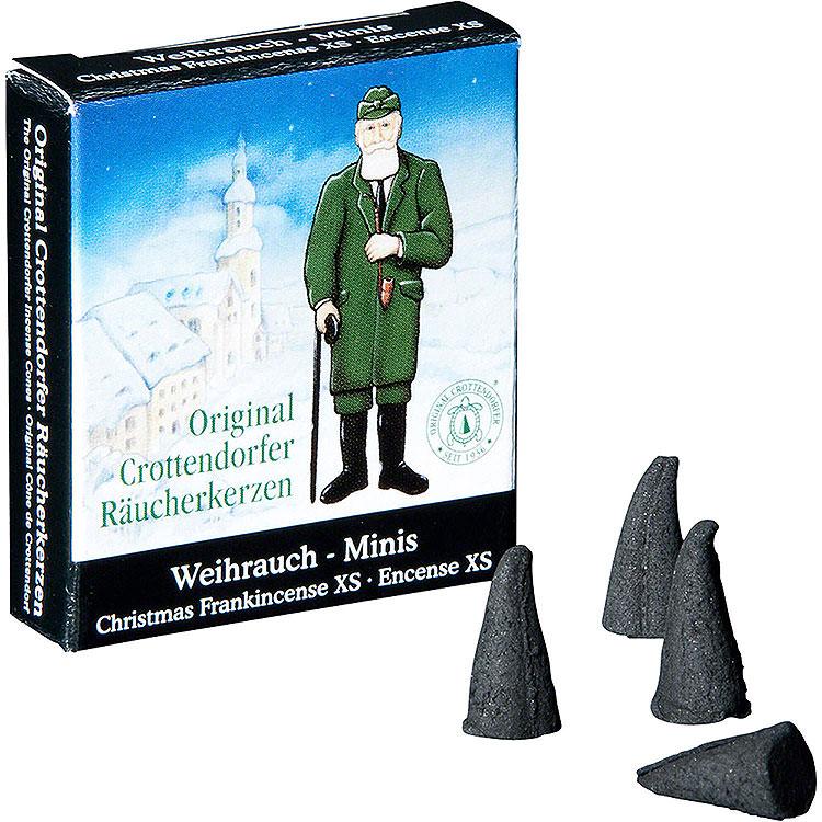 Crottendorfer Räucherkerzen  -  Weihnachtlicher Weihrauch  -  Minis