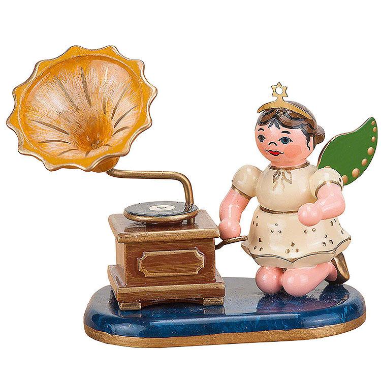 Engel mit Grammophon  -  6,5cm