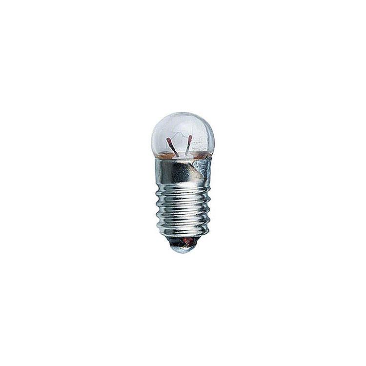 Glühlampe  -  Sockel E5,5  -  12V