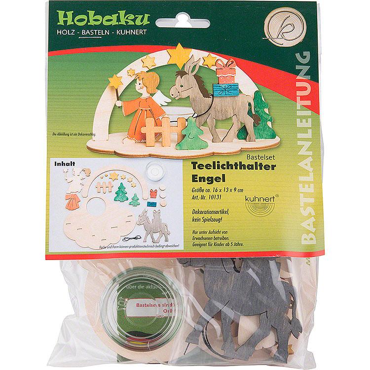 Handicraft Set  -  Tea Light Holder  -  Angel  -  9cm / 3.5 inch