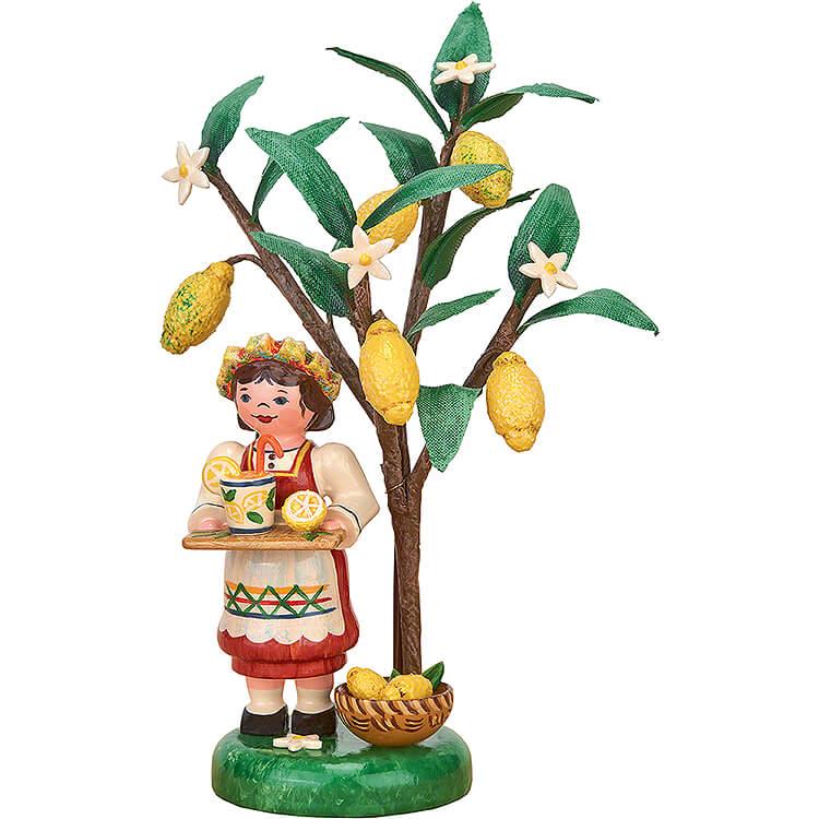 Herbstkinder Jahresfigur 2020 Zitrone  -  13cm