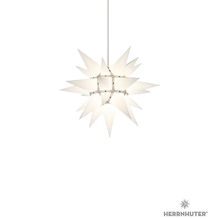 Herrnhuter Stern I4 weiss Papier  -  40cm