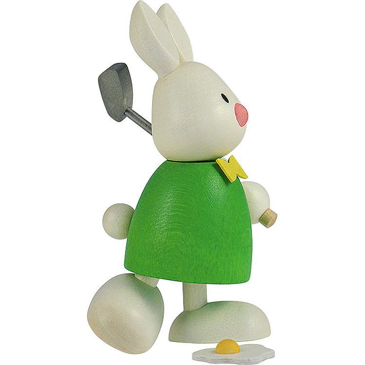 Kaninchen Max beim Golf  -  Abschlag  -  9cm
