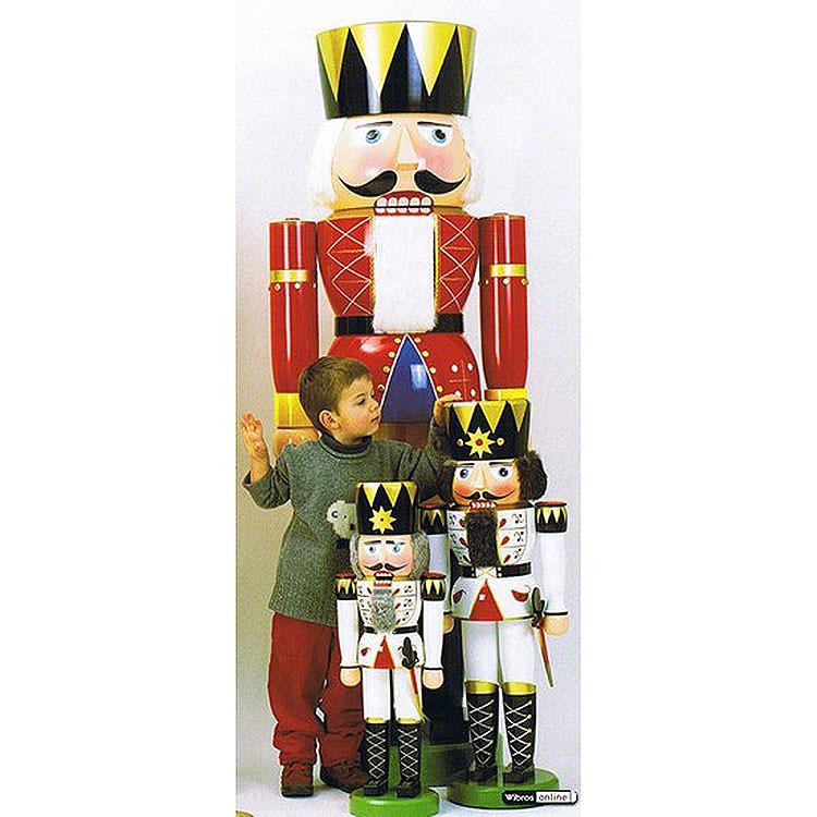 Nussknacker König rot  -  180cm
