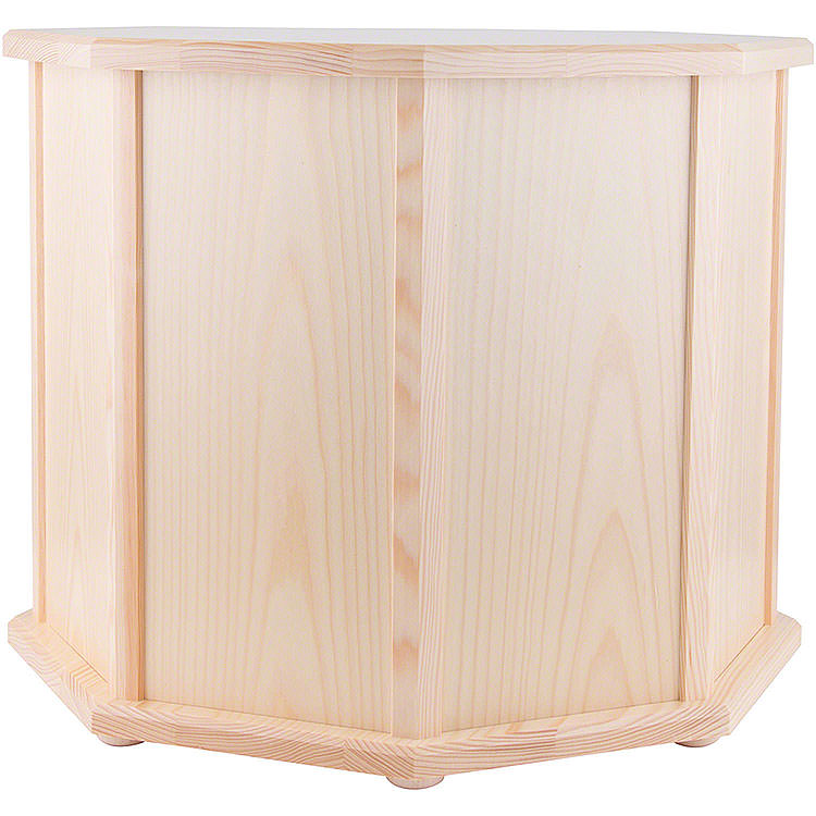 Pedestal for Pyramids Octagonal Natural  -  41cm / 16 inch