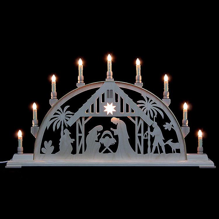 Schwibbogen Christi Geburt  -  78cmx42cm