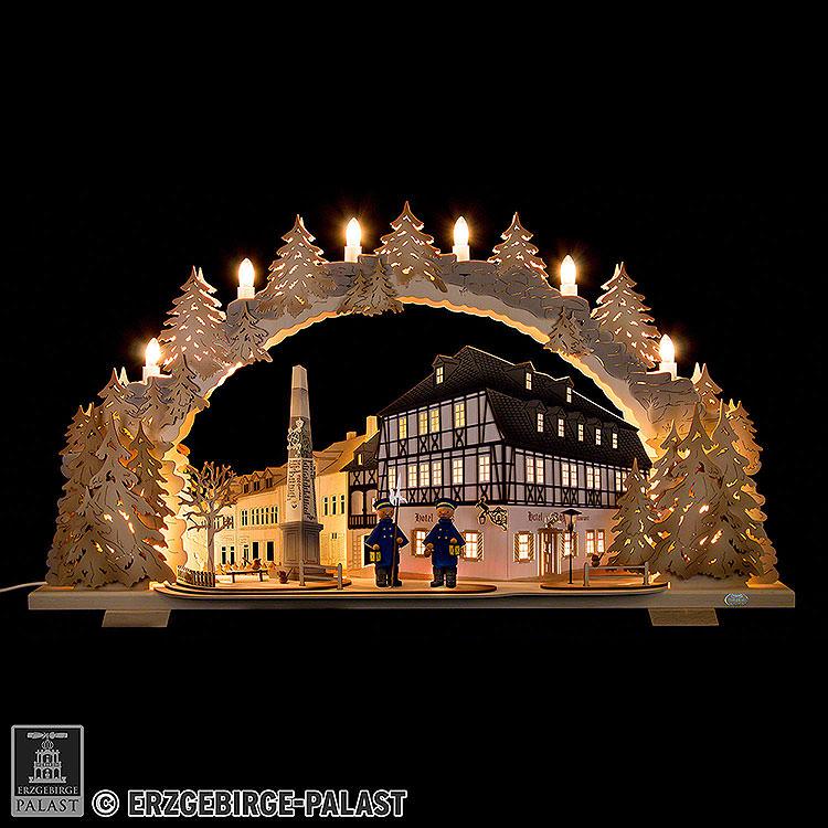 Schwibbogen Hotel zum Ross  -  72x43cm