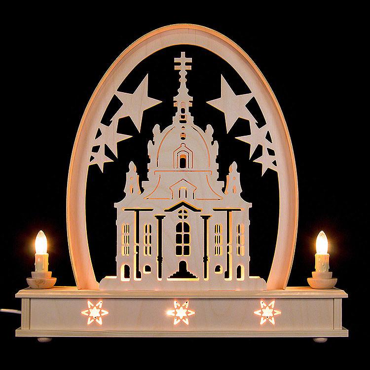 Seidelbogen Frauenkirche  -  36cmx31cm