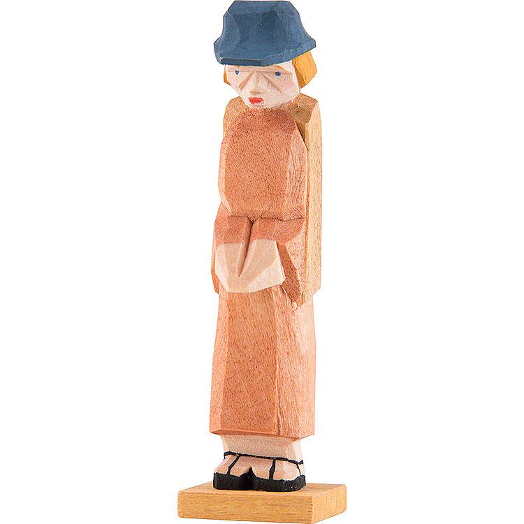 Shepherd standing praying  -  7cm / 2.8 inch