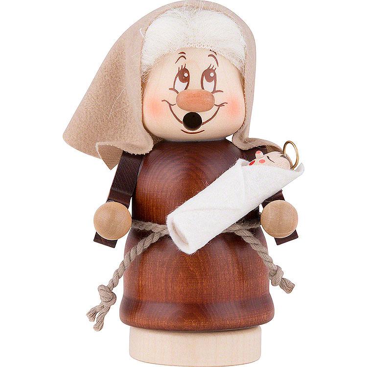 Smoker  -  Mini Gnome Mary  -  12,5cm / 5 inch