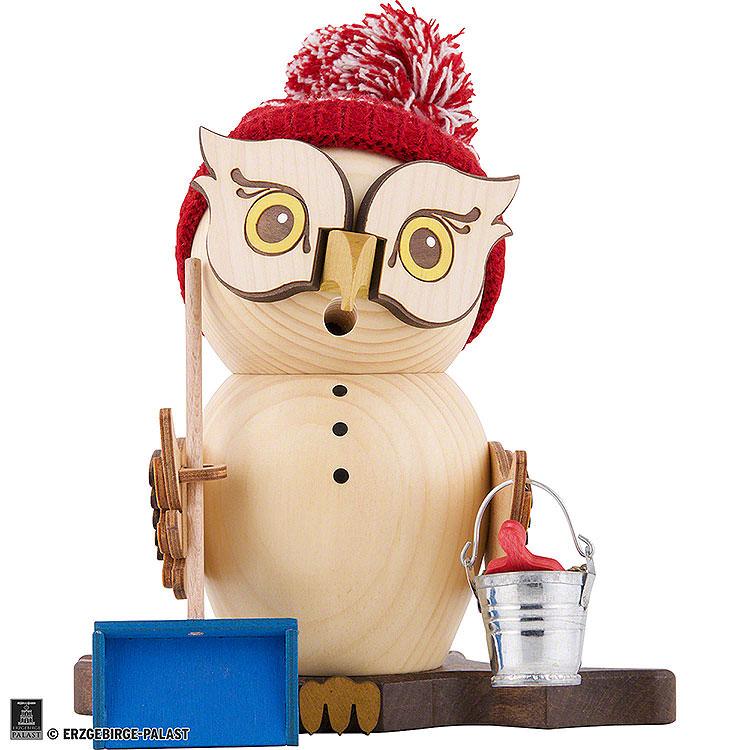 Smoker  -  Owl Snow Sweeper  -  15cm / 5.9 inch