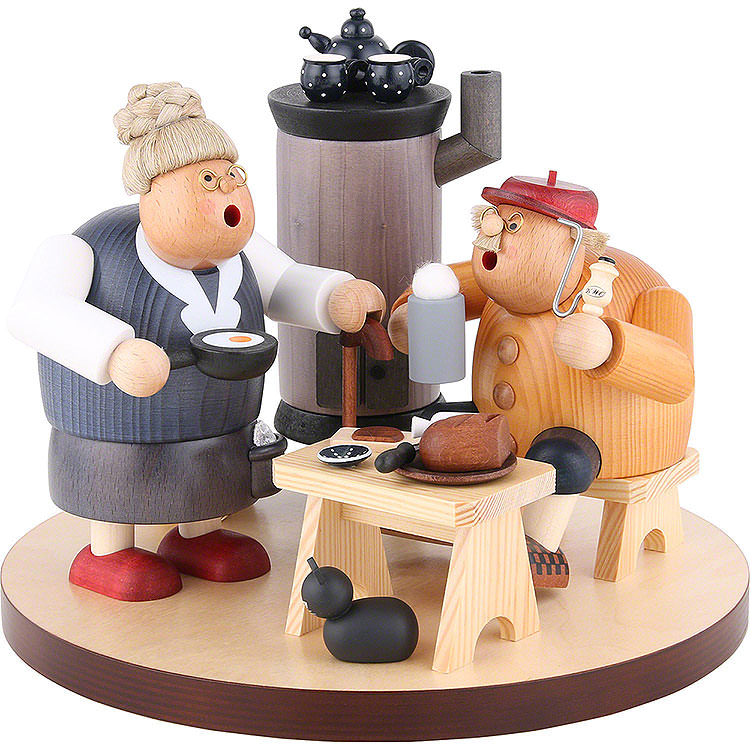 Smoker  -  at Home (3 Pc.)  -  22cm / 9 inch