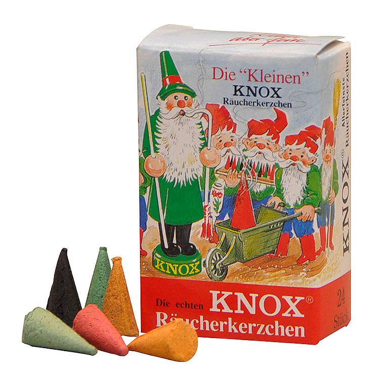 """""""The Small Ones"""" Knox Mini Incense Cones  -  Mix of Fragrances  -  24 pcs."""