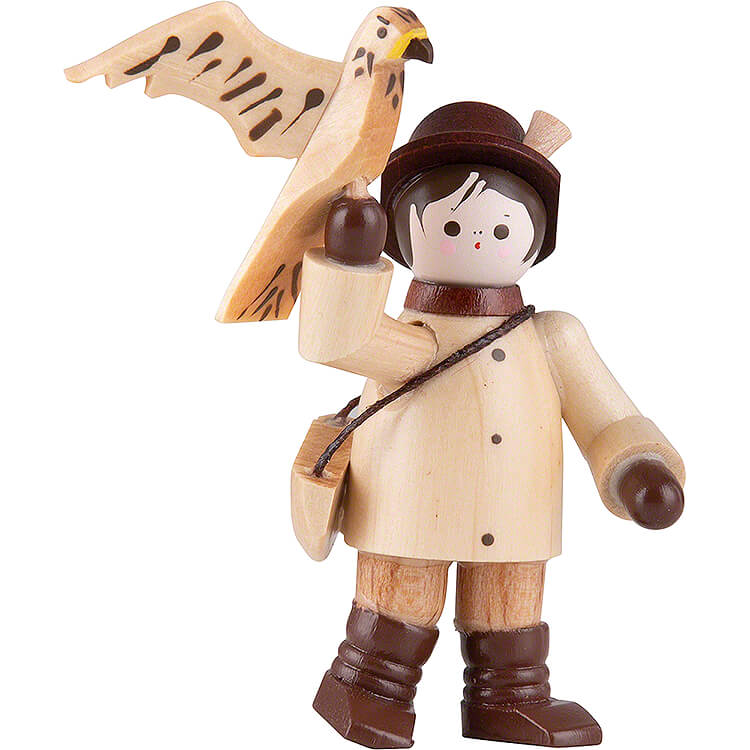 Thiel Figurine  -  Falconer  -  natural  -  6,3cm / 2.5 inch
