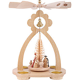 1 - Tier Bell - Pyramid Nativity Scene  -  29cm / 11 inch