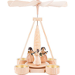 1 - Tier Pyramid  -  Angels  -  25cm / 9.8 inch