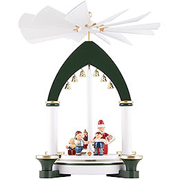 1 - Tier Pyramid  -  Christmas Eve  -  30cm / 11.8 inch