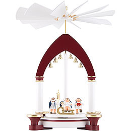 1 - Tier Pyramid  -  Heavenly Gift Giving  -  30cm / 11.8 inch