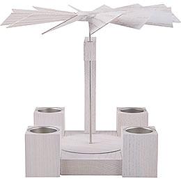 1 - Tier Pyramid  -  Modern Whitel Oak Blank  -  24cm / 10 inch
