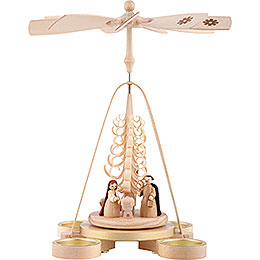 1 - Tier Pyramid  -  Nativity  -  28cm / 11 inch