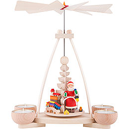 1 - Tier Pyramid  -  Santa Claus  -  23cm / 9.8 inch