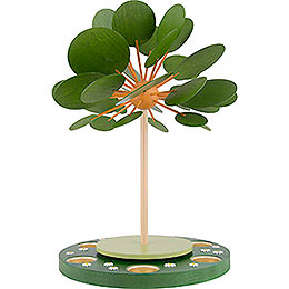 1 - Tier Pyramid  -  Seasons Tree  -  42cm / 16.5 inch