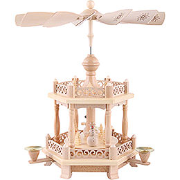 2 - Tier Pyramid  -  Baroque Fence  -  38cm / 15 inch