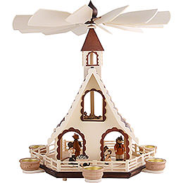 2 - Tier Pyramid  -  Forest Life  -  47cm / 18.5 inch