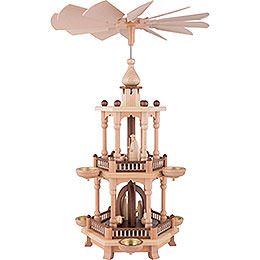2 - Tier Pyramid  -  Nativity  -  51cm / 20 inch