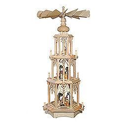 3 - Tier Christmas Pyramid  -   Gothic  -  105cm / 41 inch