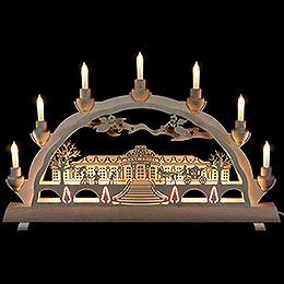3D Double Arch  -  Sanssouci Palace  -  50x32cm / 20x12.6 inch
