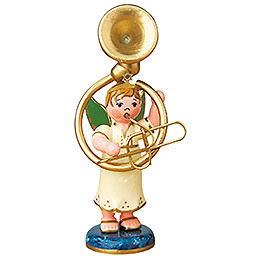 Angel Boy with Sousaphone  -  6,5cm / 2,5 inch