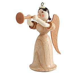 Angel Long Skirt with Trombone, Natural  -  6,6cm / 2.5 inch
