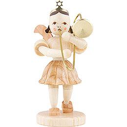 Angel Short Skirt Sliding Trombone, Natural  -  6,6cm / 2.5 inch