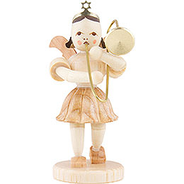 Angel Short Skirt Sliding Trombone, Natural  -  6,6cm / 2.6 inch