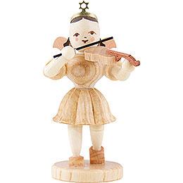 Angel Short Skirt Violin, Natural  -  6,6cm / 2.5 inch