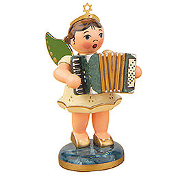 Angel with Accordion  -  6,5cm / 2,5 inch
