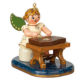 Angel with Zither  -  6,5cm / 2,5 inch