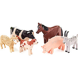 Animals  -  8 pieces  -  8cm / 3.1 inch
