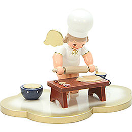 Baker Angel on Angel Cloud  -  7,0cm / 3 inch