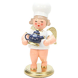 Baker Angel with Coffee Pot  -  7,5cm / 3 inch