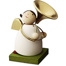 Big Band Guardian Angel with Sousaphone  -  3,5cm / 1.3 inch